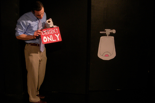 """Urinal Play"" by Robert A. K. Gonyo"