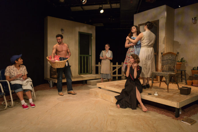 PICNIC by William Inge, directed by Robert A. K. Gonyo, at the Stella Adler Studio of Acting, photo by Joe Loper