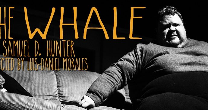 THE WHALE, by Samuel D. Hunter, directed by Luis-Daniel Morales, presented by the Harold Clurman Laboratory Theater at the Stella Adler Studio of Acting